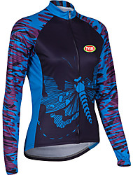 Sports Cycling Tops Women's Bike Breathable / Compression Long SleeveLYCRA®