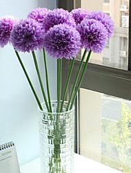 1 1 Rama Poliéster / Plástico Otros Flor de Mesa Flores Artificiales 20.861inch/53cm