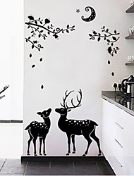 AOFU Animals Wall Stickers Plane Wall Stickers Decorative Wall Stickers,Home Decoration Wall Decal SK9081