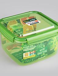 micro-ondes alimentaire carré congélateur contenant 2,9 litres
