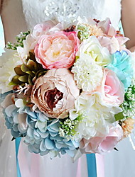 1 12 Филиал Гербарий Розы / Пионы Корзина Цветы Искусственные Цветы 25*25