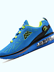 Men's Sneakers Spring / Fall Comfort Tulle Athletic Flat HeelBlack / Blue / Green Walking / Running