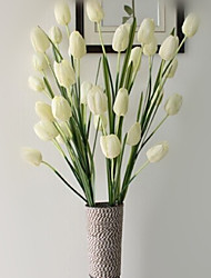 Hi-Q 1Pc Decorative Flowers Real Tulips Wedding Home Table Decoration Artificial Flowers