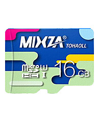 mixza 16 class gb 10 micro sd tf carte mémoire flash véritable vitesse de lecture haute vitesse: 80mb / s imperméable à l'eau
