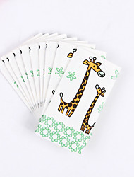 100% virgin pulp 50pcs Giraffe Napkins