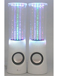 Colorful Water Fountain Bluetooth Stereo ,Genuine Multifunction Cylindrical Colorful Lights Column Car Audio