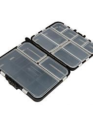 Коробка для рыболовной снасти Водонепроницаемый Многофункциональный 1 Поднос*#*12 Металл Пластик