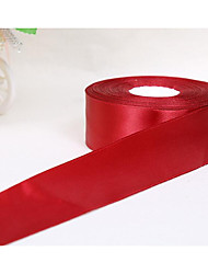 4CM Wide Ribbon Flower Decorative Gift Packaging Material Cake Box Color Ribbon