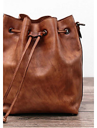 Women Cowhide Casual Shoulder Bag