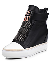 Women's Boots Fall / Winter Wedges / Heels / Fashion Boots / Bootie / Comfort / Combat Boots / Round ToeLeather /