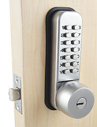 Mechanical Password Door Lock,Bedroom Code Locks with 2 Keys