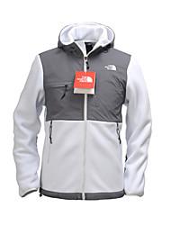 The North Face Men's Denali Fleece Hoodie Jacket Camping Hiking Outdoor Sports Trekking Full Zipper Jackets