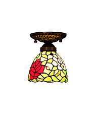 Rose for Tiffany Ceiling Lamps With 40W