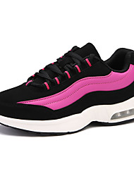 Women's Sneakers Spring Summer Fall Winter Comfort PU Athletic Flat Heel Others Pink Silver Gold