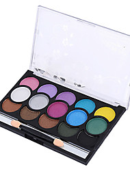 15 Color Eye Shadow Tray Smoked Earth Color Restoring Ancient Ways Makeup Cosmetics Box