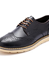 Westland® Men's Oxfords  Comfort Leather Office & Career / Party & Evening / Casual Low Heel  Black / Brown / Yellow