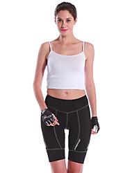 Mysenlan Pantalones Acolchados de Ciclismo Mujer Bicicleta Shorts/Malla corta Prendas de abajoTranspirable Secado rápido Resistente a los
