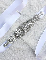 Satin Wedding Sash-Pearls Women's 70 ¾in(180cm) Pearls