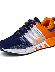 Men's Sneakers Spring / Fall Comfort Tulle Athletic  Blue / Red / White / Black and White  Running