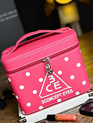 Wave Cosmetic Cosmetics Box Size Capacity Cosmetics Package Tour Bag