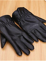 Men'S Leather Gloves Gloves Winter Outdoor Motorcycle Gloves