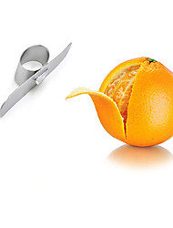 Stainless Steel Orange Peeler Parer Finger Type Open Orange Peel Orange Device Kitchen Gadgets
