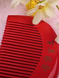 Banho e Sabão(Vermelho) -Tema vintage-Casamento 24*25CM Madeira