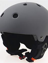 Kinder / Unisex Helm L: 58-61cm Sport Extraleicht(UL) Befestigt 14 ASTM F 2040 Schnee Sport / Ski Grau PC / EPS