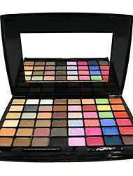 48 Color Matte&Shimmer Professional Eye Shadow Makeup Cosmetic Palette with Mirror&Applicator Set(4 Color Selected)