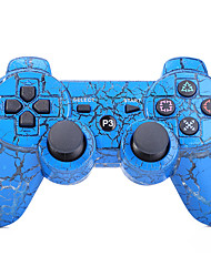 Wireless Dual Shock Six Axis Bluetooth Controller for SONY PS3 (Multicolor)