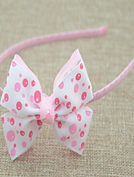 Children Bow Fabric Headbands