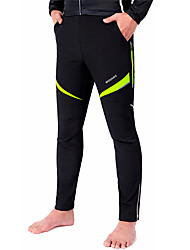 WOSAWE Cycling Pants Unisex Bike Pants/Trousers/Overtrousers BottomsWaterproof Breathable Thermal / Warm Windproof Insulated Rain-Proof