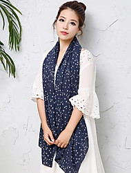 Autumn And Winter Cotton Scarf And Korean Stars Dark All-Match Retro Jacquard Shawl With Long Scarf Girl
