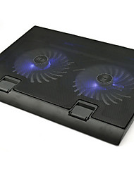 Folding Notebook Fan Cooling Pad with LED Light For Laptop