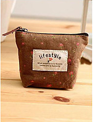 Unisex Linen Casual / Professioanl Use / Shopping Coin Purse