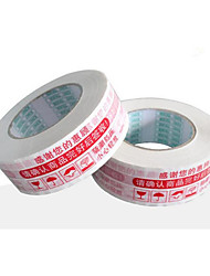 Red Color Other Material Packaging & Shipping Warnings Tape