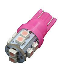 10x côté t10 de coin de 10 cms rose intérieur LED W5W de lumière 192 168 194 158 921 2825