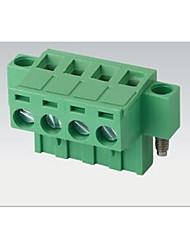 подключи и штекер типа подключения терминала 2edgkm-5.08mm с уха / фланец фиксируется отверстие экологически чистого антипирена