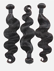 "3Pc /Lot 10""-30"" Indian Virgin Hair Body Wave Human Hair Wefts 100% Unprocessed Indian Remy Hair Weaves"