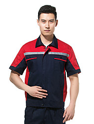 services costume de rechange uniformes électriques d'ingénierie des services d'entretien à manches courtes (épaule jaune vendu)