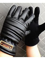 Men'S Cotton Gloves Slip Gloves Warm Winter Motorcycle Gloves Thickening Increase
