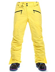 Sports Ski Wear Bottoms Men's Winter Wear Chinlon Classic Winter Clothing Breathable / Thermal / Warm Leisure Sports / Downhill