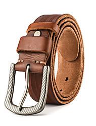 Masculino Cinto para a Cintura Vintage / Festa / Trabalho / Casual Couro Couro / Pele Masculino