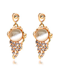 TIANSHE  Women'S  Stylish diamond earrings earrings Alloy 1 pair