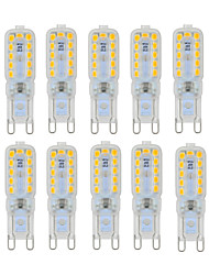 6W G9 Luci LED Bi-pin T 22 SMD 2835 450-550 lm Bianco caldo / Luce fredda Intensità regolabile / Decorativo AC 220-240 / AC 110-130 V10