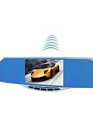 registratore di guida registrata retrovisore specchietto retrovisore e doppio nuvola di cane elettronico del flusso traiettoria fissa