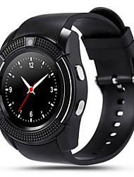 v8 Full-Disk-ips Smart Watch Bildschirm erwachsenen Kindern Telefon-Support Karte qq WeChat Bluetooth Push