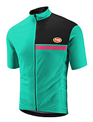 Sports Bike/Cycling Tops Men's Short Sleeve Breathable /Wearable / Ultra Light Fabric LYCRA® / Terylene / CoolmaxClassic