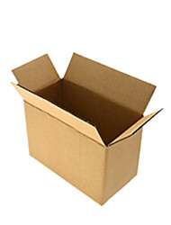 Brown Color Packaging & Shipping Packing Boxes A Pack of Seventeen