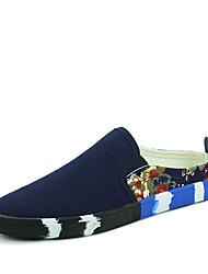 Men's Sneakers Comfort Canvas Outdoor / Athletic / Casual Flat Heel Slip-on Shoes